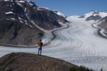 Salmon Glacier in British Columbia about 17 miles past Hyder, Alaska