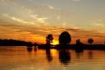 Sunset on West Point Lake, Georgia