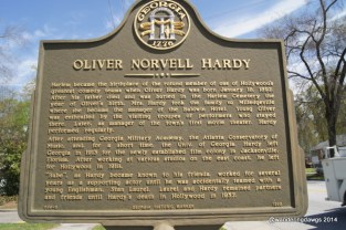 Oliver Norvell Hardy was born in Harlem, Georgia in 1892