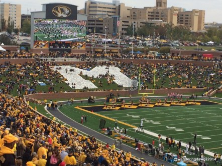 Faurot Field at the University of Missouri