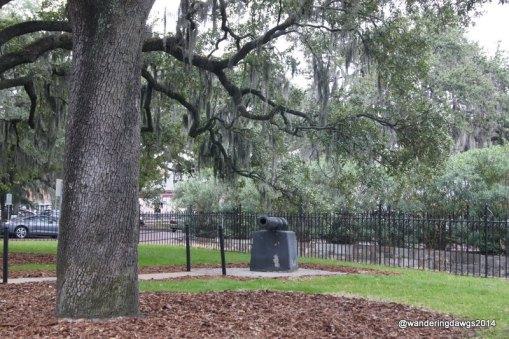 Hussars Memorial in Emmet Park