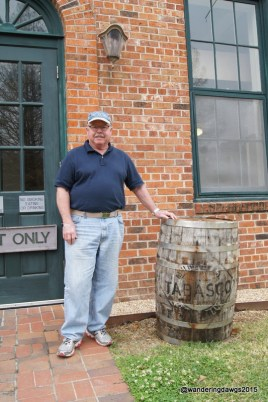 The sauce is aged in barrels that were used to make Jack Daniels Whiskey