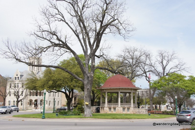 Gazebo in New Braunfels, Texas