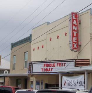 LanTex Theater was the venue for Llano Fiddle Fest Contest 20