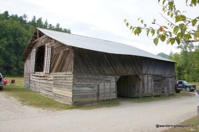 Old Barn in Cataloochee Valley