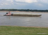 Another small barge on the Mississippi