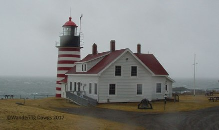 West Quaddy Light is located on the easternmost point in the U. S.