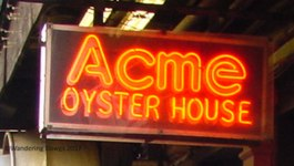 Acme Oyster House in New Orleans