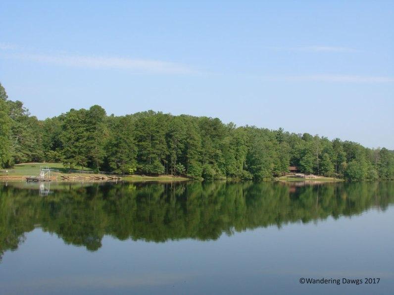 Lake at Oconee State Park