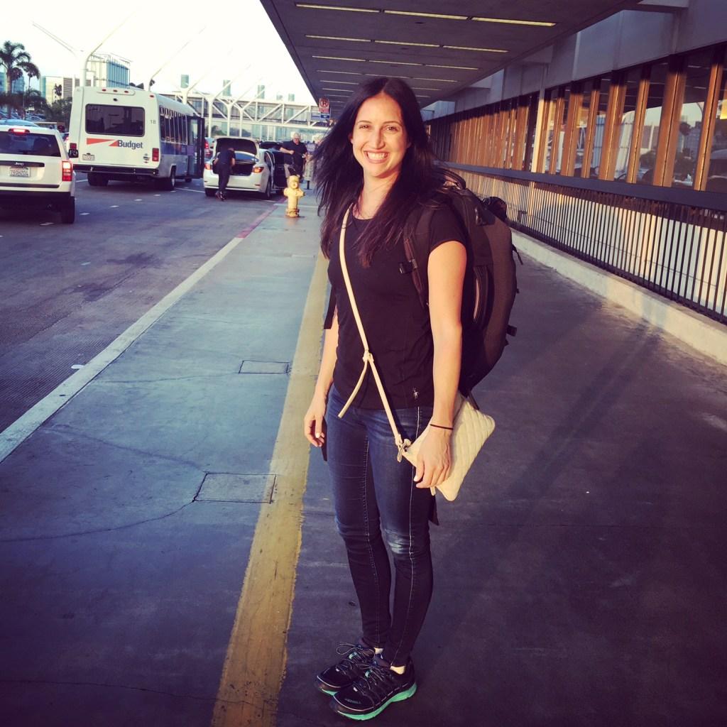 LAX departure