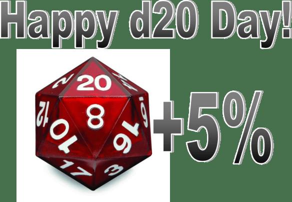 Happy d20Day