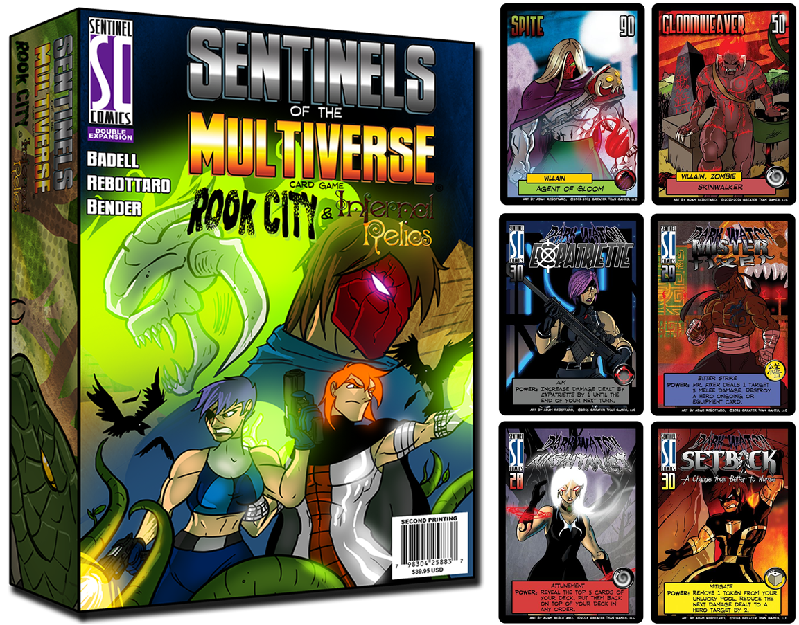 sentinels of the multiverse promo cards