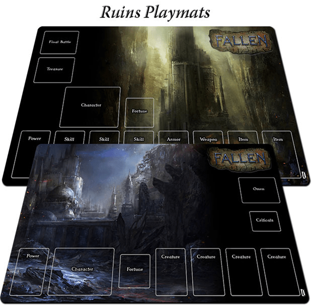 Playmat Ruins