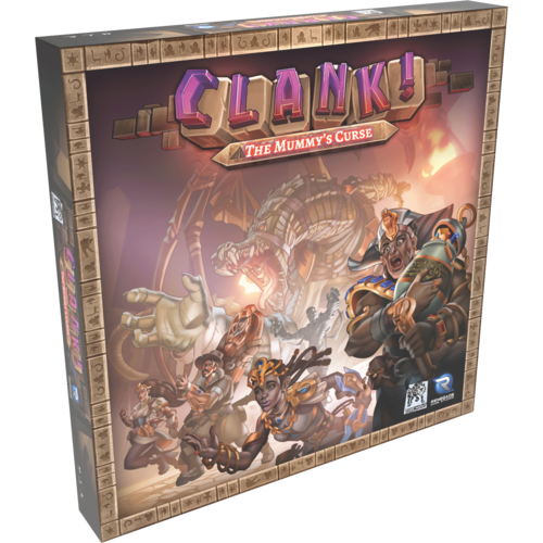 Image result for Clank! The Mummy's Curse board game