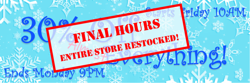 2019 Black Friday 30 Percent Off Almost Everything Final Hours