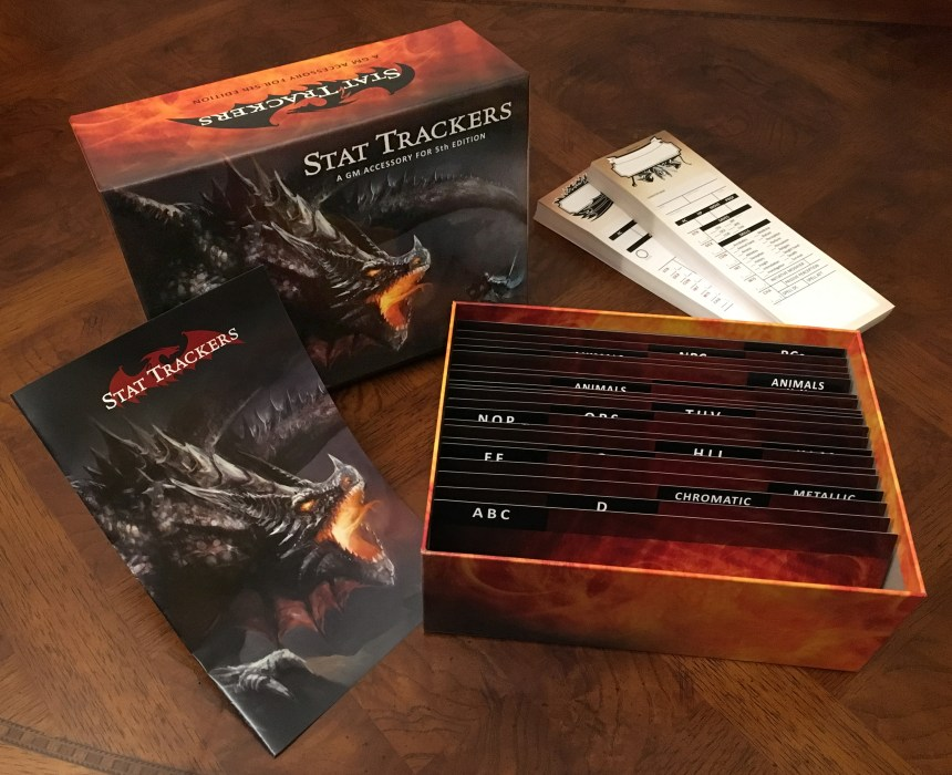 01 Stat Trackers Complete Set Beauty Shot Wandering Dragon Game Shoppe Plainfield IL