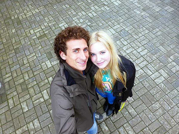 Meeting a Friend in Tallinn