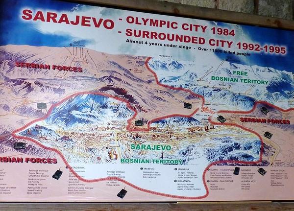Amid The Ruins Of War In Bosnia Herzegovina Wandering Earl - Where is sarajevo