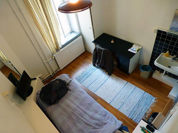 My Hostel Room in Helsinki, Finland