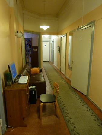 Erottajanpuisto Hostel (hallway)
