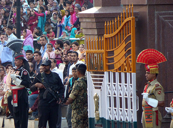 Border ceremony, Wagah, India