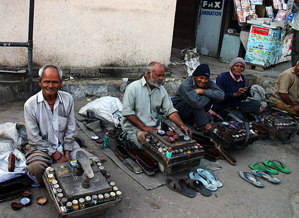 Incredible India - Shoe Men in Delhi