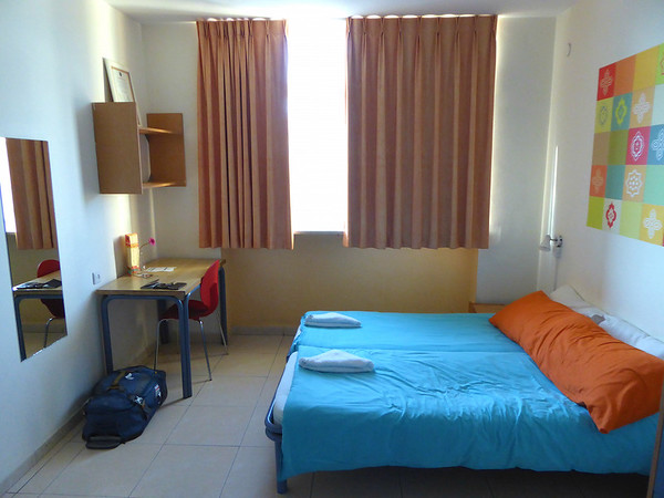 Private room at Abraham Hostel