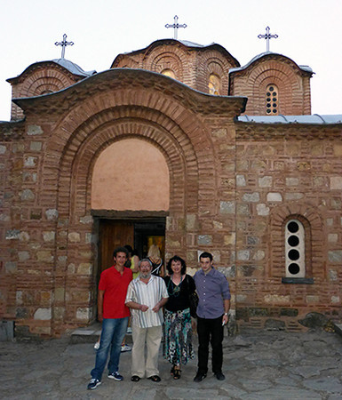Church in Skopje, Macedonia