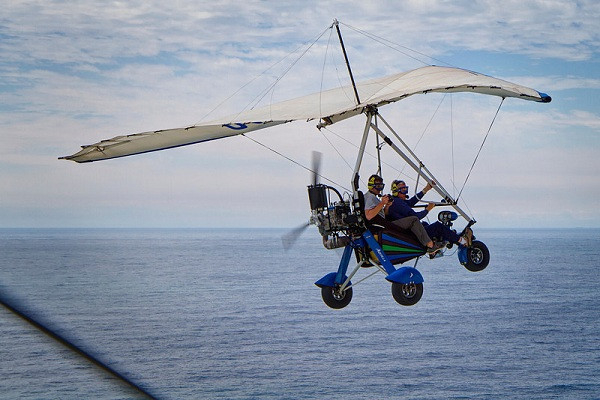 Microlight Flight, South Africa
