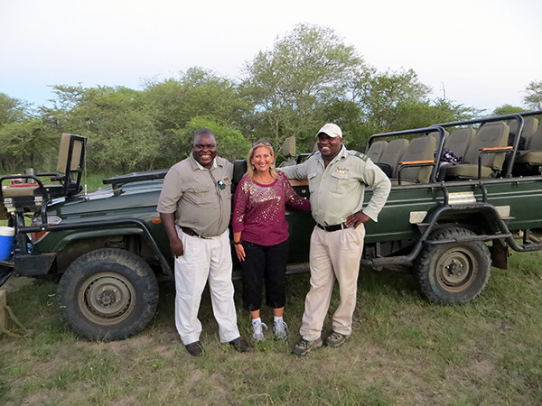 Guide and Tracker at Thornybush