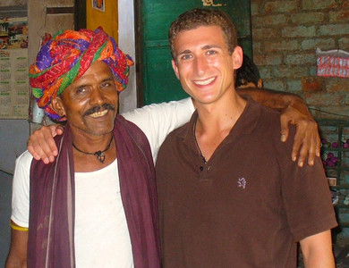 Wandering Earl in Bundi India