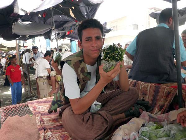 Qat Market, Jebel, Yemen