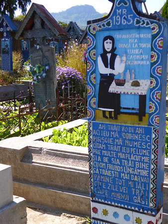 Merry Cemetery, Maramures - Happy