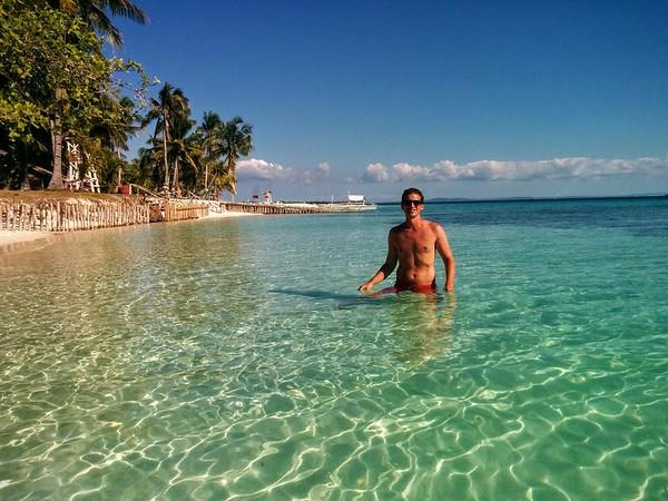 short break on Virgin Island, Philippines