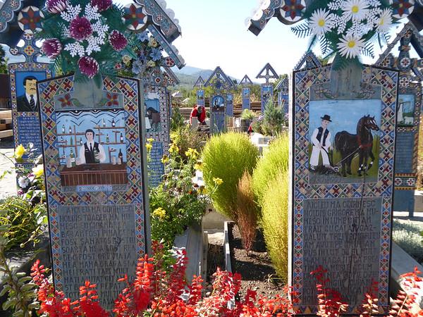 Merry Cemetery, Maramures - Bartender