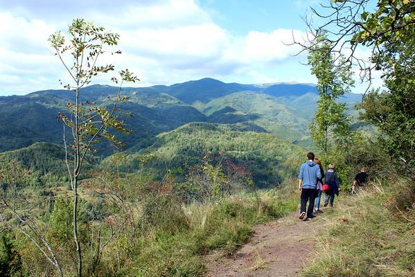 Hiking in Bulzesti