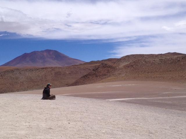 Travel thinking about life. Salar de Uyuni