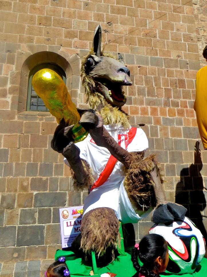 World cup llama