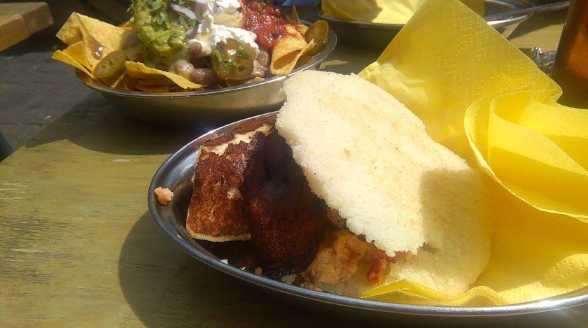 Arepa - latin american food - in Brixton, London