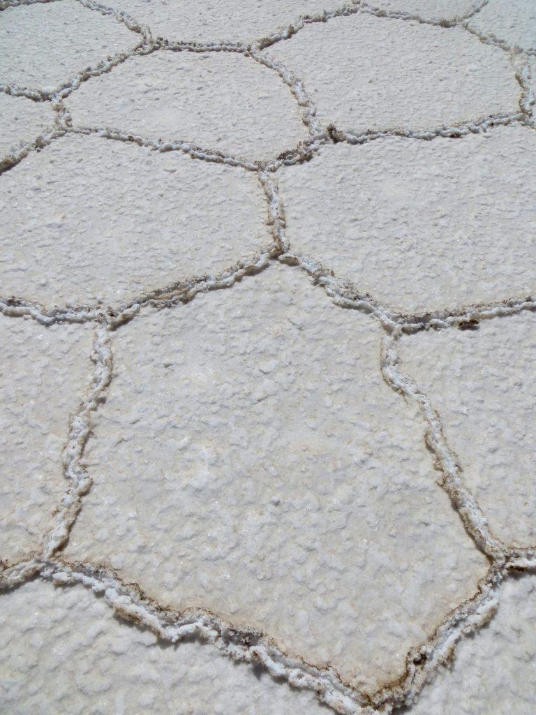Patterns of salt Salar de Uyuni, Bolivia