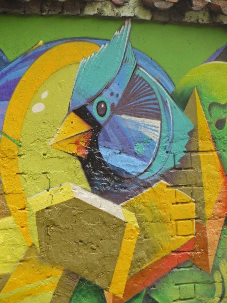 Bogota Street Art Colour