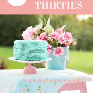 Turning thirty is a significant milestone birthday, and I'm almost there! It's the birthday that marks officially starting adulthood and waving goodbye to our youth. Here's are thirty things I'd like to do in my thirties that you might want to try too.