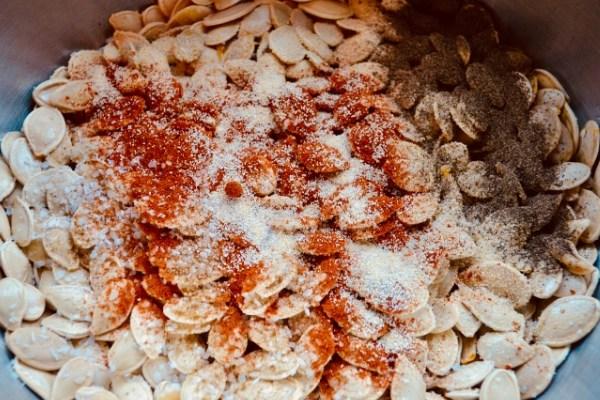 season pumpkin seeds