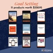 goal setting products 11 products worth 359