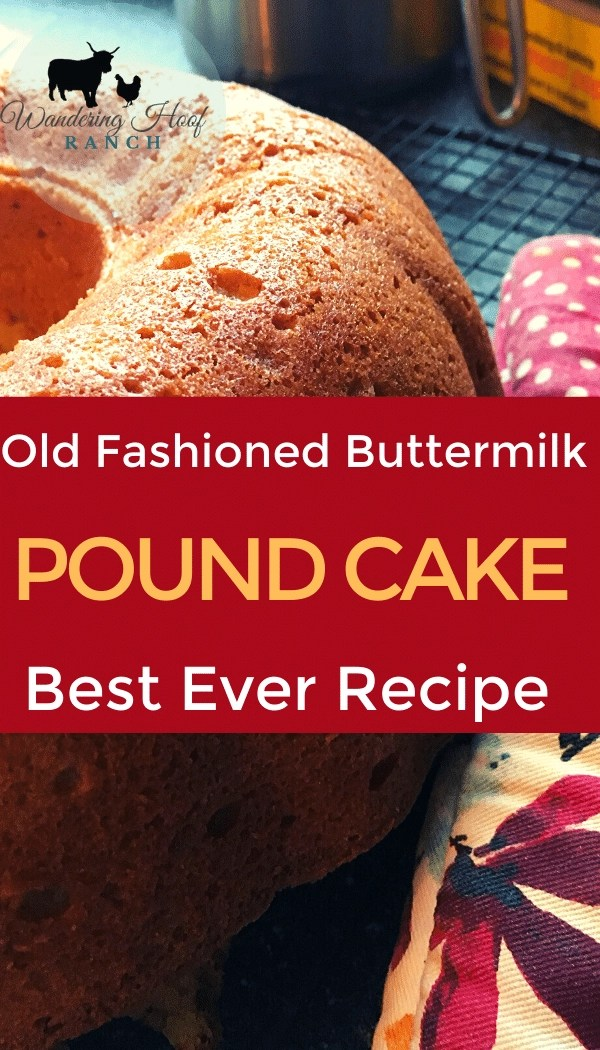 old fashioned buttermilk pound cake pin