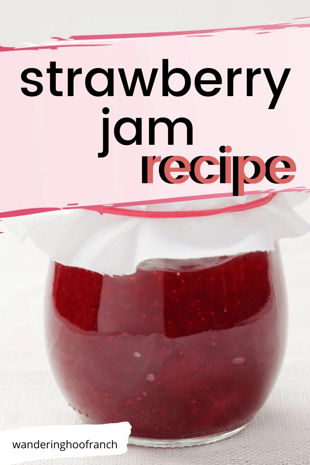 strawberry jam recipe image