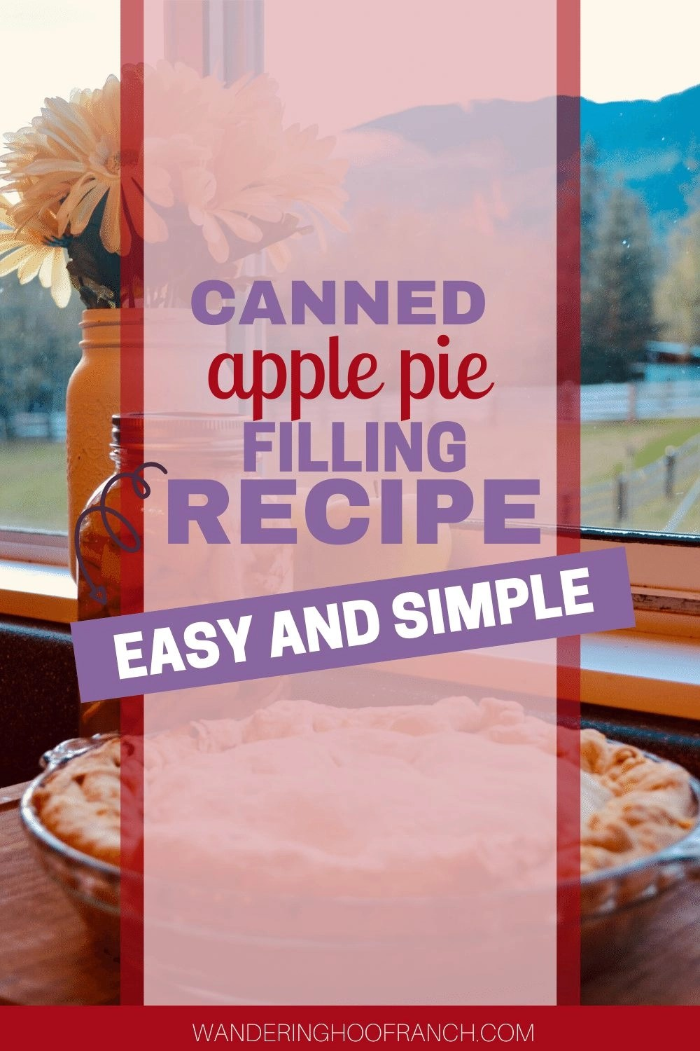CANNED APPLE PIE FILLING RECIPE PIN EASY AND SIMPLE