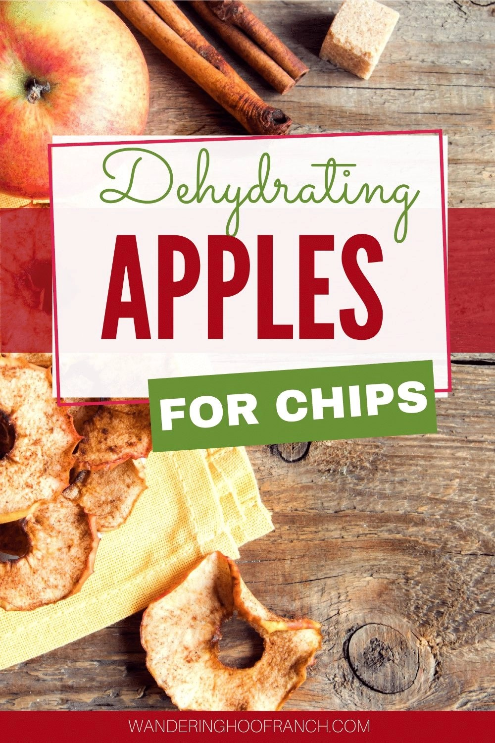dehydrating apples for chips