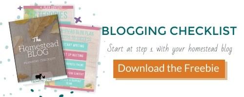 Blogging Checklist freebie opt in