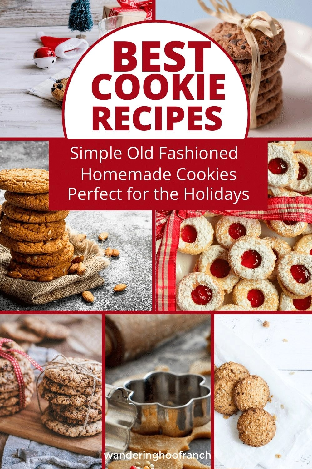 Old Fashioned Homemade Cookies Perfect for the Holidays